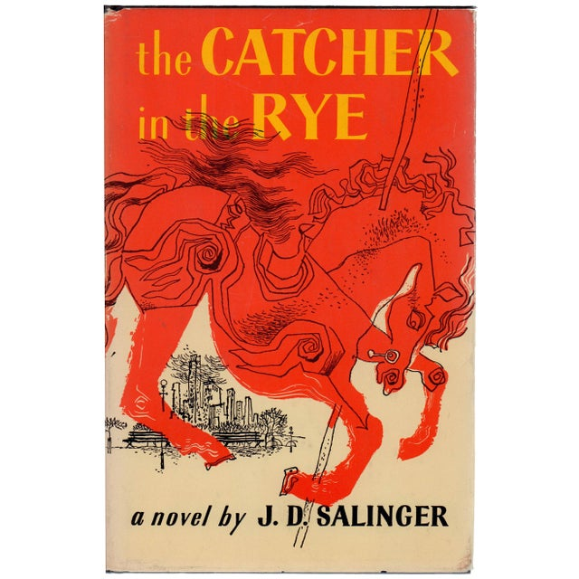"1950s ""The Catcher in the Rye"" Hardcover Book by J. D. Salinger - Image 1 of 3"