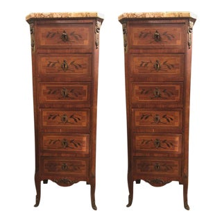 19th Century Louis XV Style Lingerie Chests - A Pair