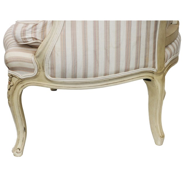 John Widdicomb French Style Upholstered Chair - Image 8 of 9