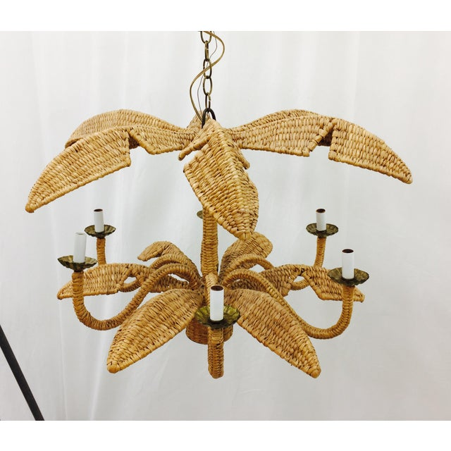 Mario Lopez Torres Palm Leaf Chandelier - Image 9 of 11