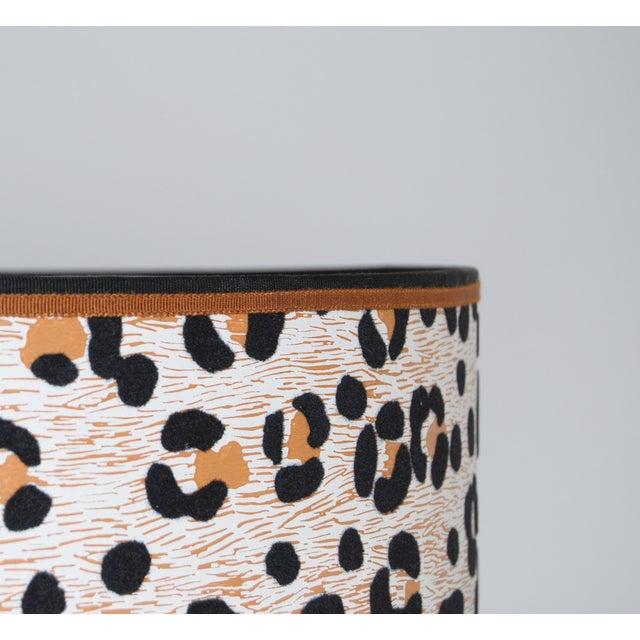 Vintage Cheetah Wallpaper Lampshade - Image 4 of 4