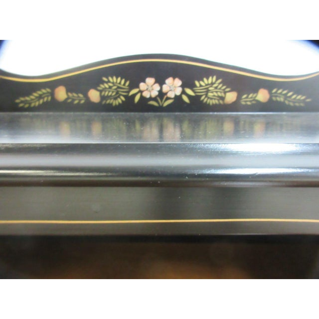 Ethan Allen Hitchcock Paint Decorated Writing Desk - Image 7 of 10