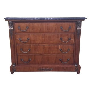 French Tiger Wood Credenza