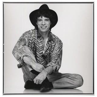Peter Lindbergh Studio Photo of Mick Jagger