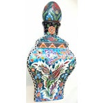 Image of Handmade & Hand Painted Turkish Tile Bottle