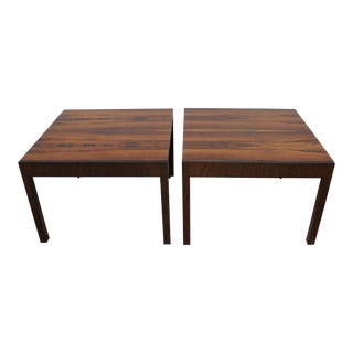 Baker Rosewood Tables - A Pair