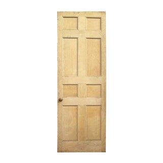 Recessed Panel White Pine Door