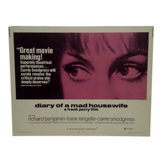 "Vintage Movie Poster ""Diary of a Mad Housewife"""