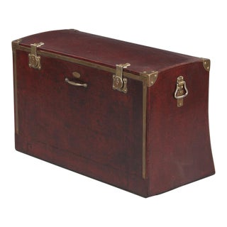 Antique French Automobile Trunk, Circa 1900s