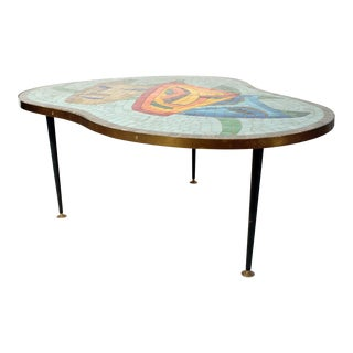 1960s Mosaic top coffee table