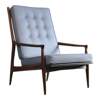"""Archie"" Lounge Chair by Milo Baughman for Thayer Coggin, Restored"