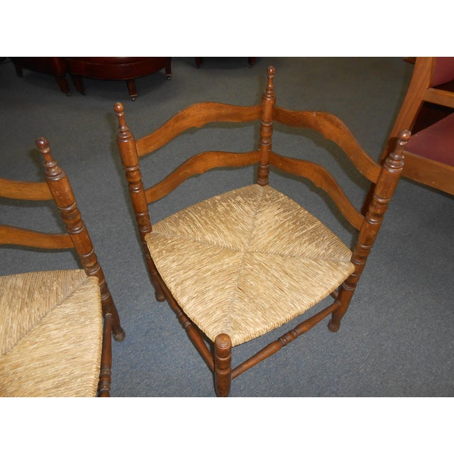 Corner Chairs - A Pair - Image 7 of 9