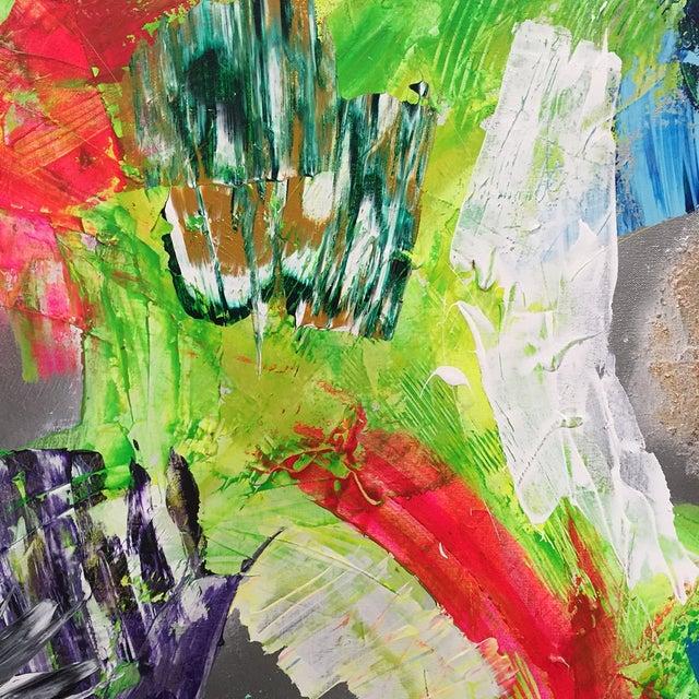 Image of Megan Lisak Original Abstract Acrylic Painting