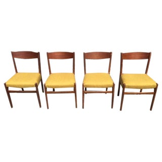 Danish Modern Dining Chairs - Set of 4