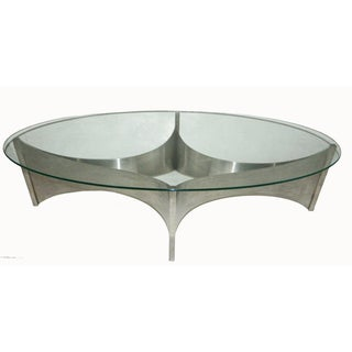 "Maison Charles ""Voiles"" Coffee Table"