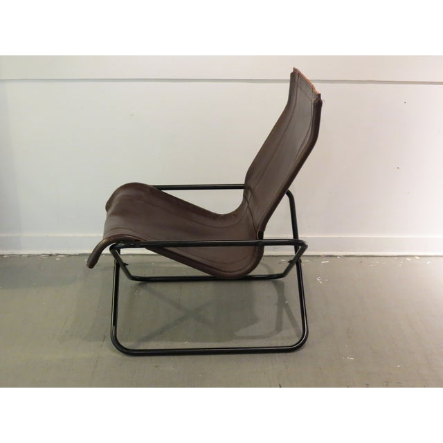 Vintage MCM Uchida Leather Sling Chair - Image 5 of 11