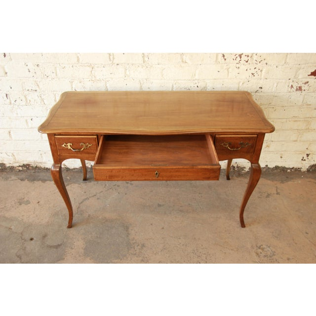 Baker Furniture Vintage French Provincial Writing Desk Chairish