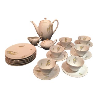 Mid-Century Coffee Set - Service For 6