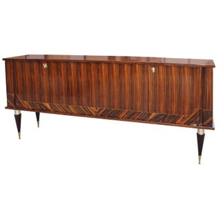 French Art Deco Macassar Ebony Sideboard