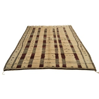"Moroccan Striped Wool Rug - 10'2"" x 13'"