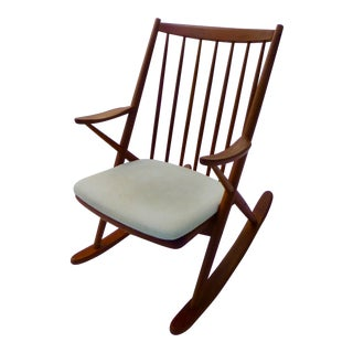 Brahmin Mobler Danish Rocking Chair