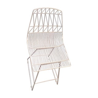 Bend Goods White Bar Stool