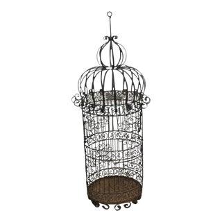 Large Vintage Birdcage