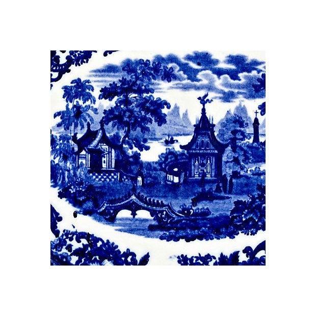 Wedgwood Flow Blue Chinese Platter - Image 2 of 4
