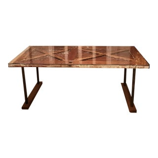 Reclaimed Vintage Wood Dining Table