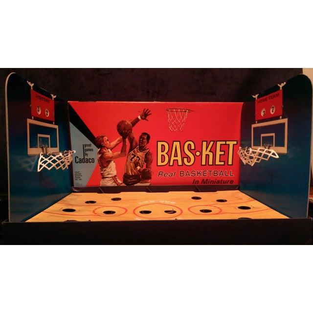 Image of 1966 Cadaco Bas-Ket Basketball Board Game
