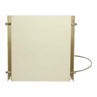 Modern White Box Shaped Wall Sconce