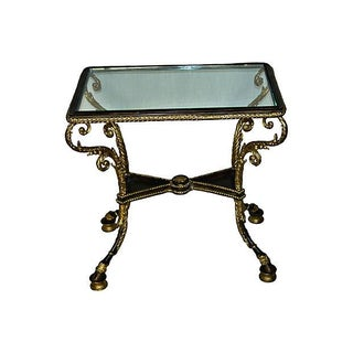 Rococo-Style Side Table, Style of François Linke