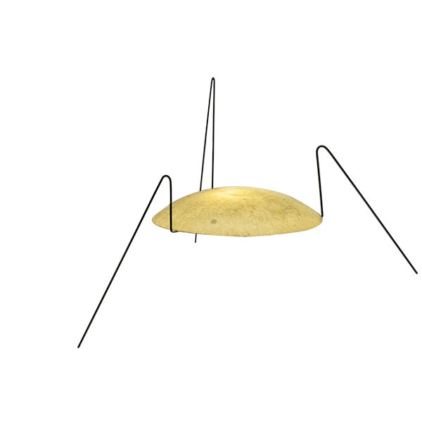 Yellow Modernist 'Spider' Lamp - Image 1 of 4