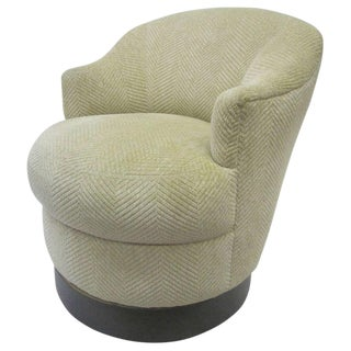 Karl Springer Swivel Chair