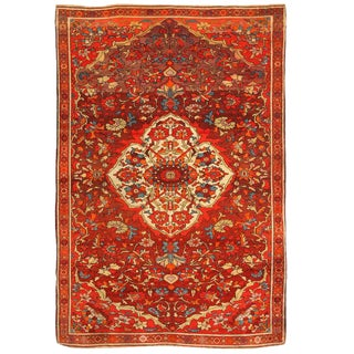 Antique 19th Century Persian Mishan Rug