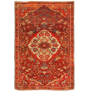 Antique 19th Century Persian Mishan Rug