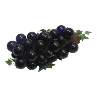 Italian Purple Grape Bunch
