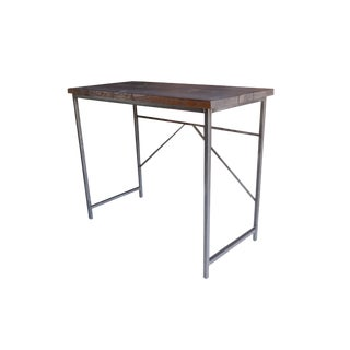 Industrial Wood & Steel Standing Desk