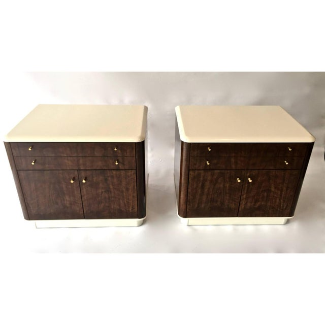 Mid-Century Drexel Nightstands - A Pair - Image 2 of 10