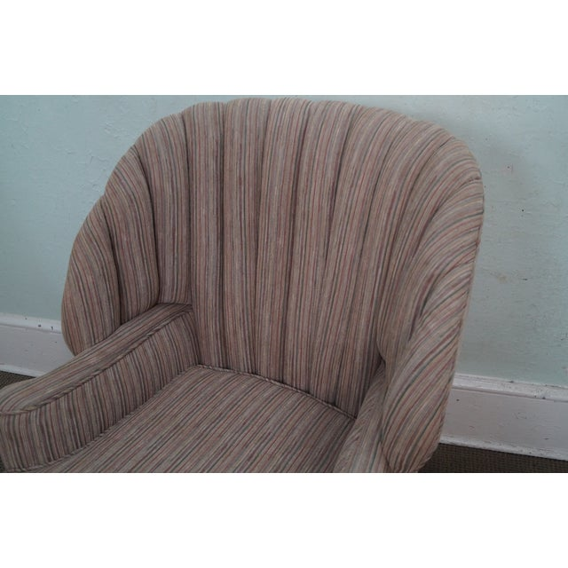 Feudal Oak Jamestown Wing Chairs - A Pair - Image 5 of 10