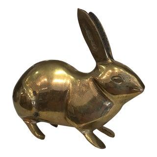 Brass Petite Bunny
