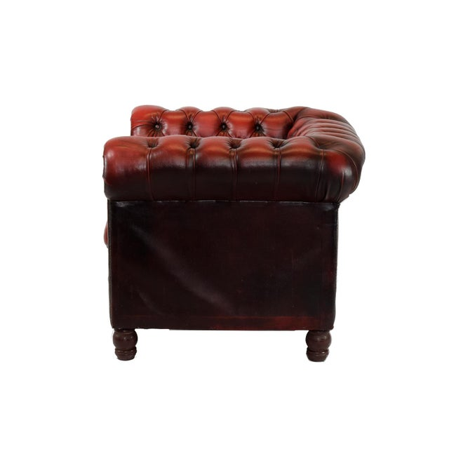 Image of 1970's Tufted Club Chair