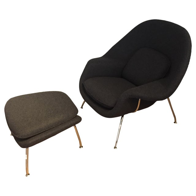 Womb Chair and Ottoman by Rove Concepts - Image 1 of 5