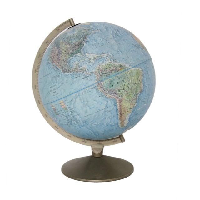 Image of Vintage Mid Century Replogle Land and Sea Globe