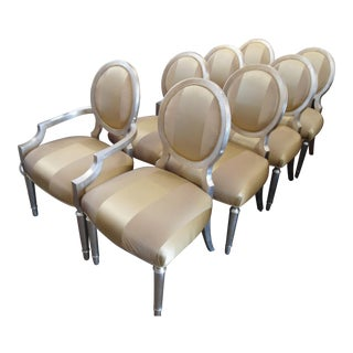 Caracole Chit-Chat Dining Chairs - Set of 8