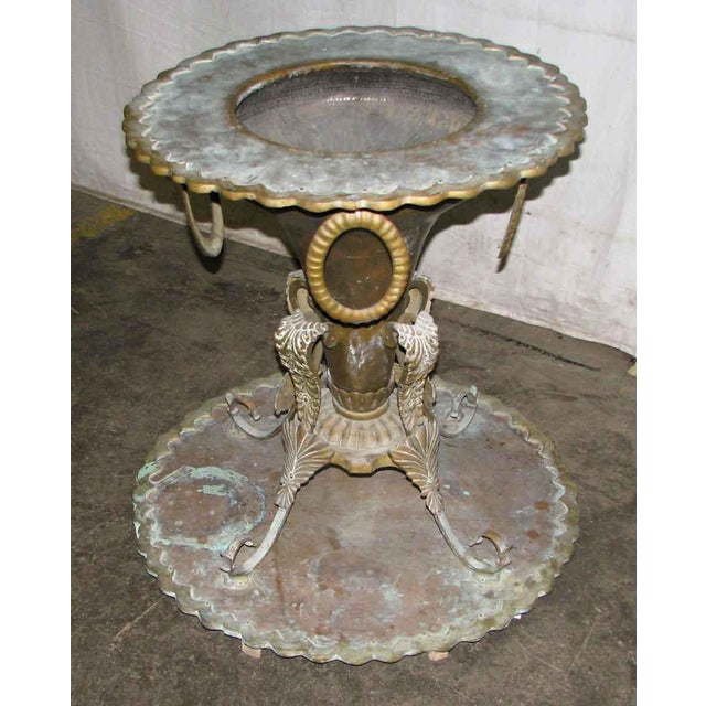 Brass Umbrella Stand Embossed: Hand Hammered Brass Umbrella Stand