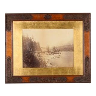 1867 Original Photograph by Carleton Watkins
