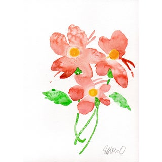 Pink Floral Watercolour