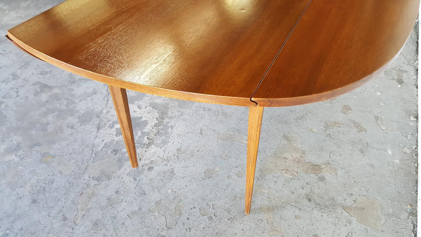 Broyhill Brasilia Walnut Drop Leaf Dining Table Chairish