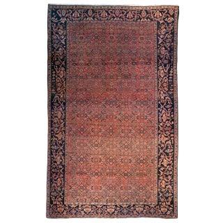 """19th C. Saruk Farahan Carpet - 6'6"""" x 4'6"""""""